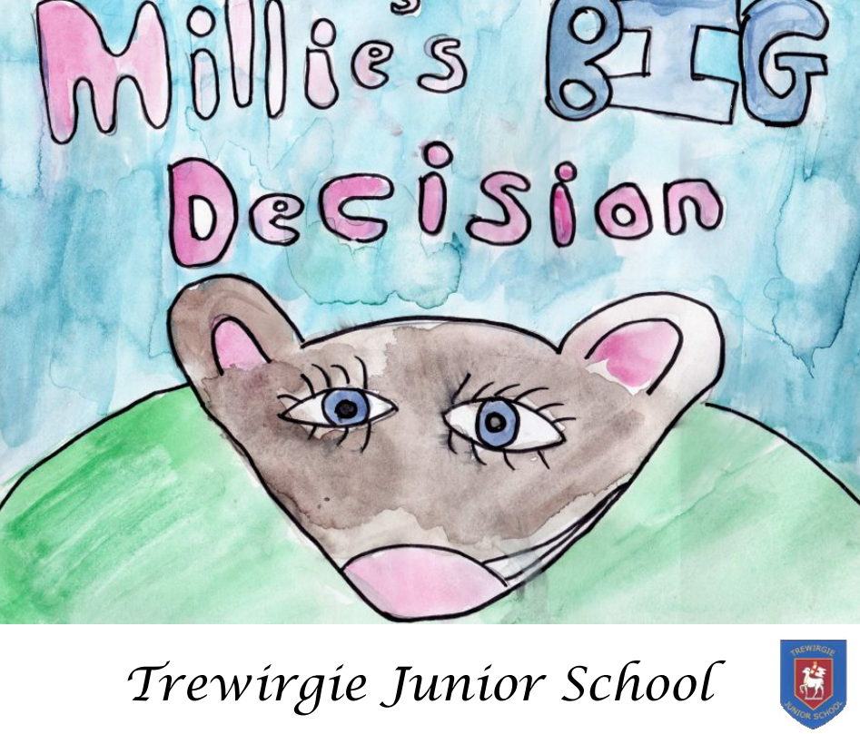 Millies Big Decision front page