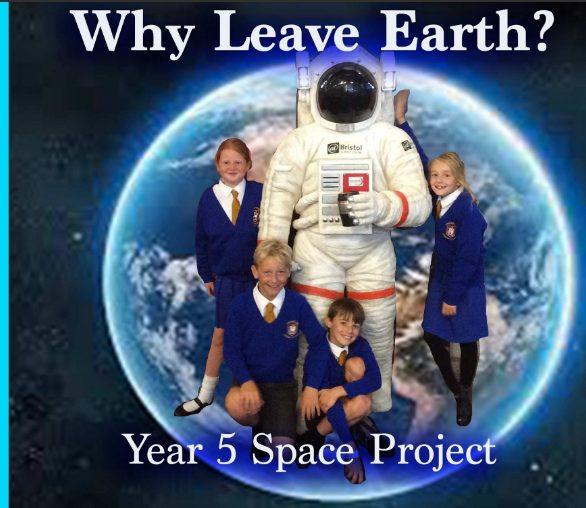 Space Project front cover
