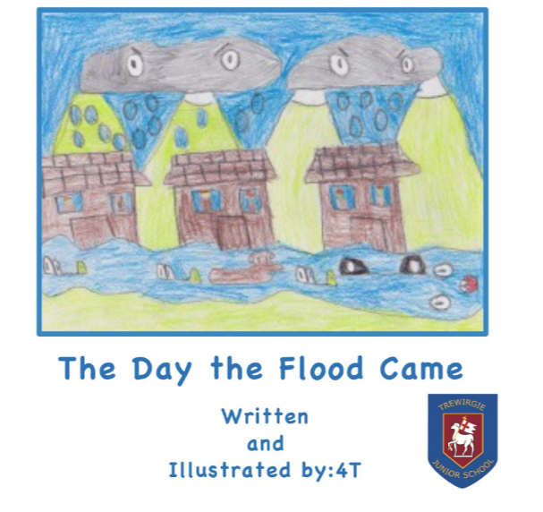 The Day the Flood Came front cover